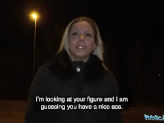 Public Agent Hunting for Sexy Ass on the Streets